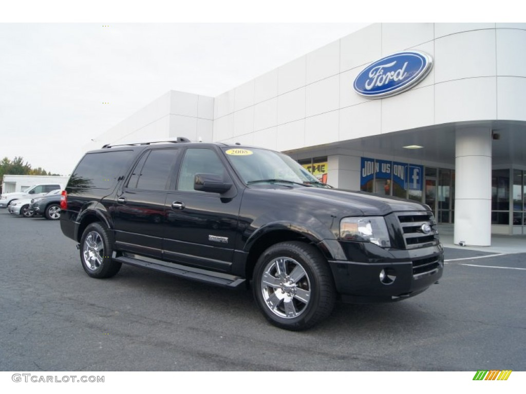 2008 ford expedition el limited 4x4 exterior photos. Black Bedroom Furniture Sets. Home Design Ideas