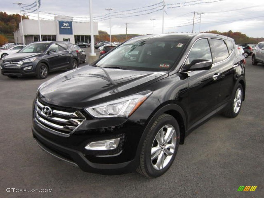 twilight black 2013 hyundai santa fe sport 2 0t exterior. Black Bedroom Furniture Sets. Home Design Ideas