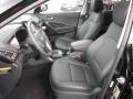 Black Front Seat Photo for 2013 Hyundai Santa Fe #72420110