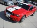2007 Torch Red Ford Mustang Shelby GT500 Coupe  photo #9