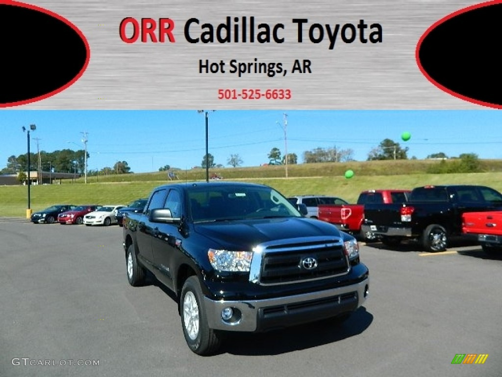 2013 Tundra CrewMax - Black / Graphite photo #1
