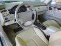Parchment 1999 Mercedes-Benz E Interiors