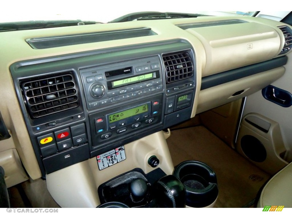 2002 land rover discovery ii series ii sd controls photo. Black Bedroom Furniture Sets. Home Design Ideas