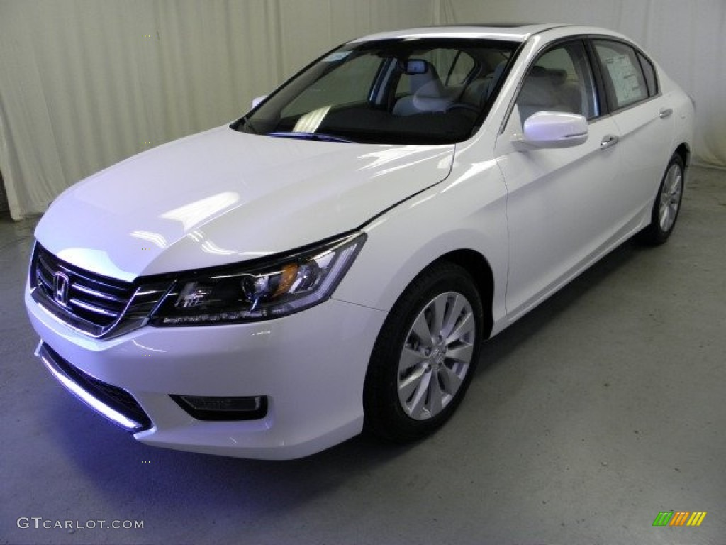 2013 white orchid pearl honda accord ex l v6 sedan. Black Bedroom Furniture Sets. Home Design Ideas