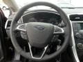 SE Appearance Package Charcoal Black/Red Stitching Steering Wheel Photo for 2013 Ford Fusion #72442236