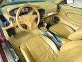 Savanna Beige Prime Interior Photo for 1999 Porsche 911 #72443472