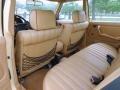 Rear Seat of 1981 E Class 300 D Sedan