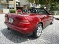 Firemist Red Metallic 2000 Mercedes-Benz SLK 230 Kompressor Roadster