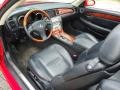 Black 2003 Lexus SC Interiors