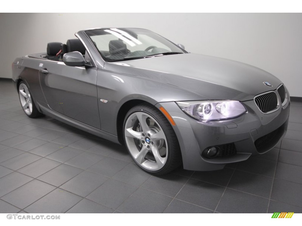 Space Gray Metallic BMW Series I Convertible Exterior - 2013 bmw 335is convertible