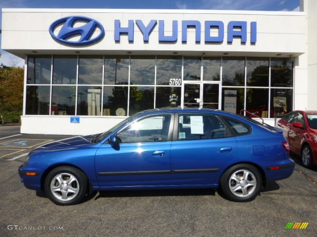 2004 tidal wave blue hyundai elantra gt hatchback 72397891 gtcarlot com car color galleries gtcarlot com