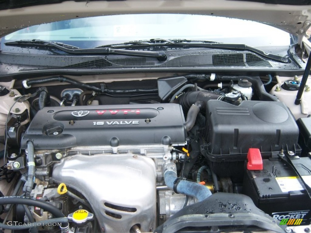 2004 Toyota Camry Le 2 4 Liter Dohc 16