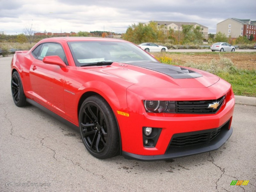 2013 Victory Red Chevrolet Camaro Zl1 72469848 Photo 8