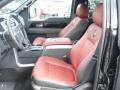 2013 F150 Limited SuperCrew 4x4 Limited Unique Red Leather Interior