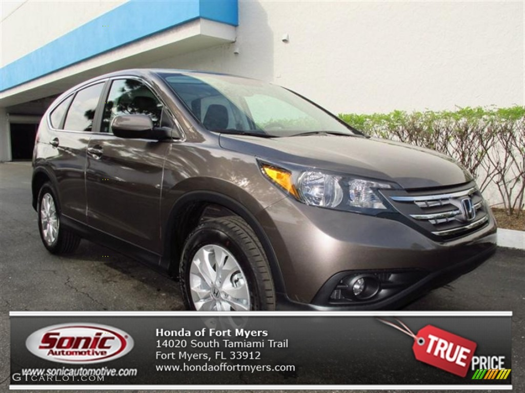 2012 CR-V EX - Urban Titanium Metallic / Black photo #1