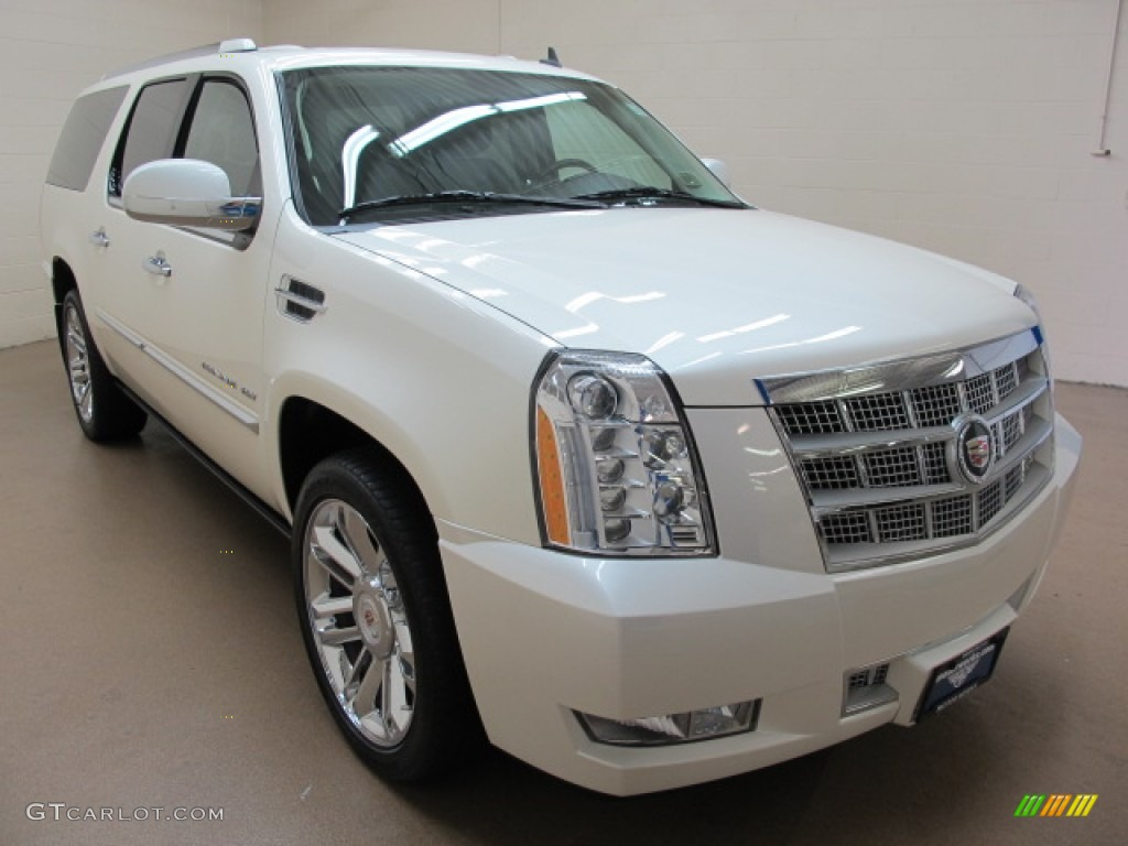 2010 white diamond cadillac escalade esv platinum awd. Black Bedroom Furniture Sets. Home Design Ideas