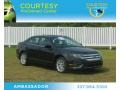2011 Tuxedo Black Metallic Ford Fusion SEL V6  photo #1
