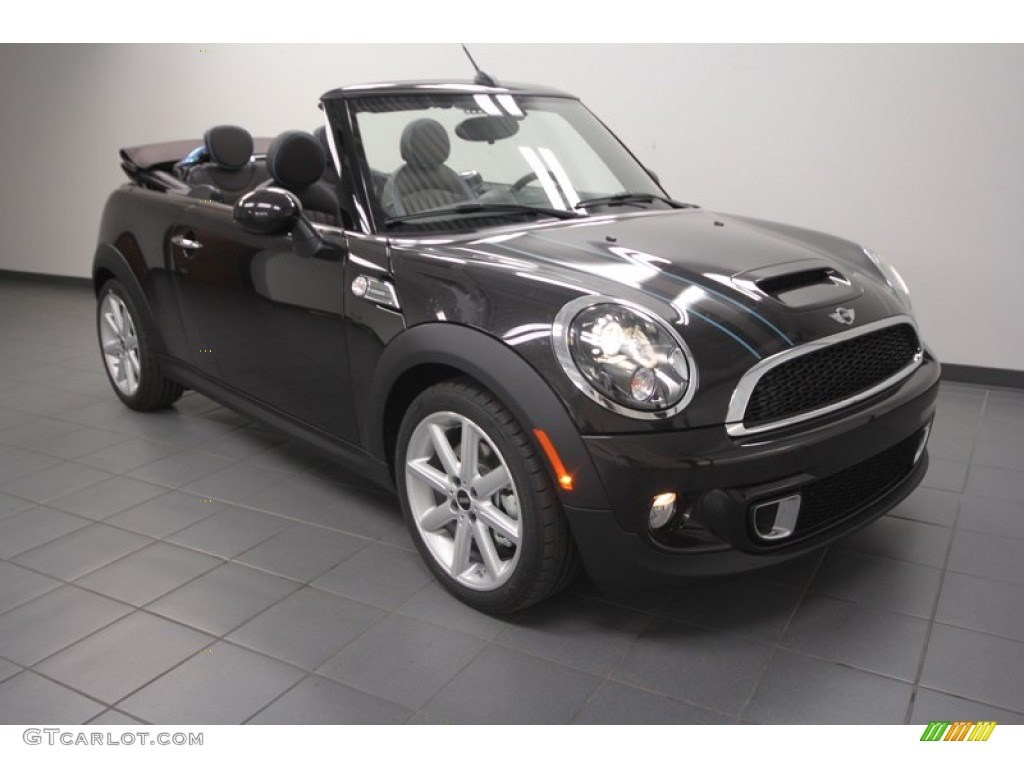 2013 Cooper S Convertible Highgate Package - Iced Chocolate Metallic ...