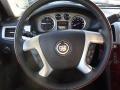 2012 Cadillac Escalade Ebony/Ebony Interior Steering Wheel Photo