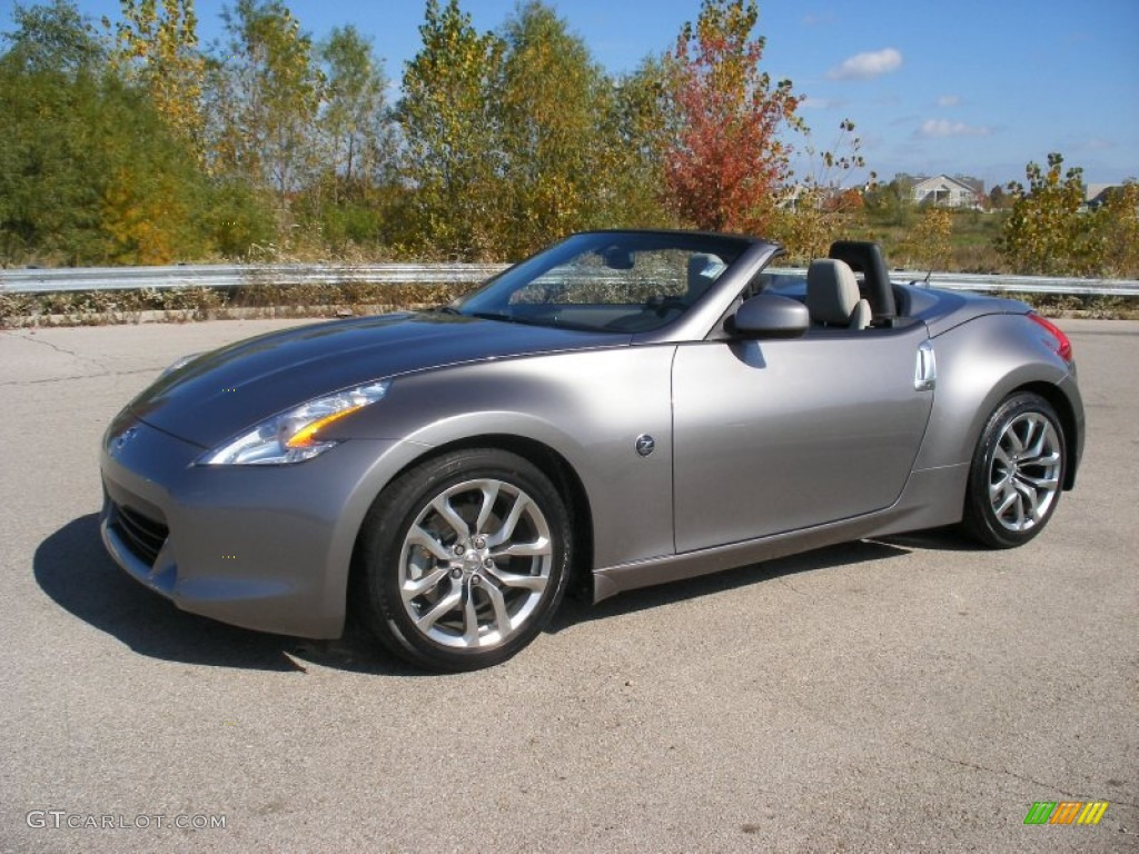 2010 platinum graphite nissan 370z touring roadster. Black Bedroom Furniture Sets. Home Design Ideas