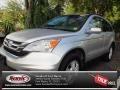 2010 Alabaster Silver Metallic Honda CR-V EX-L AWD  photo #1