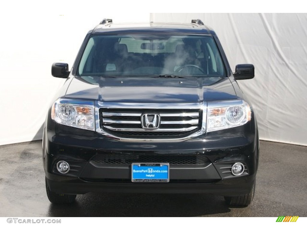 2013 crystal black pearl honda pilot touring 4wd 72551369 for Black honda pilot
