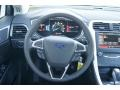 SE Appearance Package Charcoal Black/Red Stitching Steering Wheel Photo for 2013 Ford Fusion #72557073
