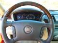 2009 Cadillac DTS Light Linen/Cocoa Interior Steering Wheel Photo