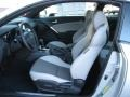 Gray Leather/Gray Cloth Front Seat Photo for 2013 Hyundai Genesis Coupe #72566413