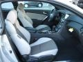 Gray Leather/Gray Cloth Interior Photo for 2013 Hyundai Genesis Coupe #72566533