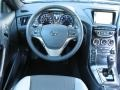 Gray Leather/Gray Cloth Dashboard Photo for 2013 Hyundai Genesis Coupe #72566602