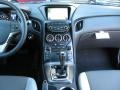 Gray Leather/Gray Cloth Controls Photo for 2013 Hyundai Genesis Coupe #72566627