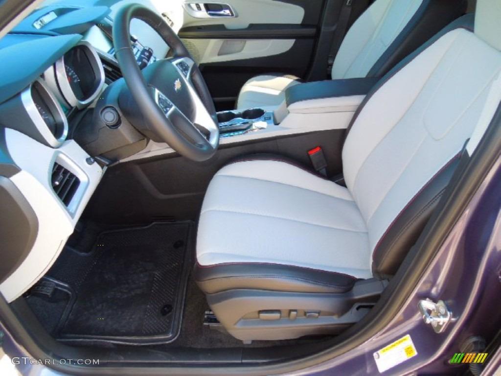 Light Titanium Jet Black Interior 2013 Chevrolet Equinox Lt Photo 72568362