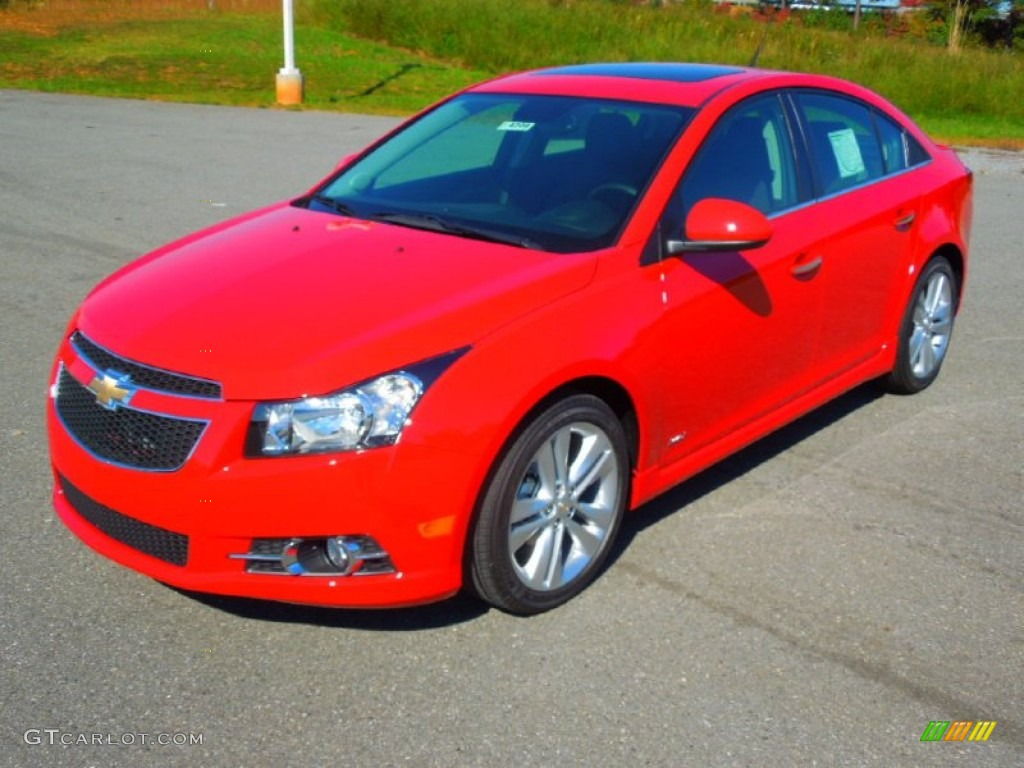 Victory Red 2013 Chevrolet Cruze Ltz Rs Exterior Photo