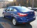 2012 Sonic Blue Metallic Ford Focus SEL Sedan  photo #6