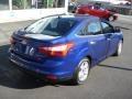 2012 Sonic Blue Metallic Ford Focus SEL Sedan  photo #8