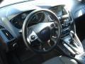 2012 Sonic Blue Metallic Ford Focus SEL Sedan  photo #10
