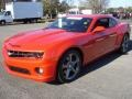 Inferno Orange Metallic 2013 Chevrolet Camaro Gallery