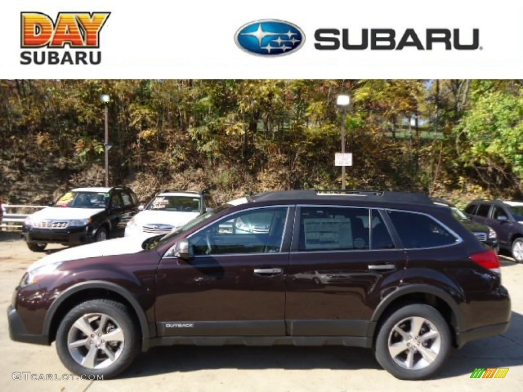 2013 brilliant brown pearl subaru outback 25i limited 72597637 brilliant brown pearl subaru outback vanachro Images
