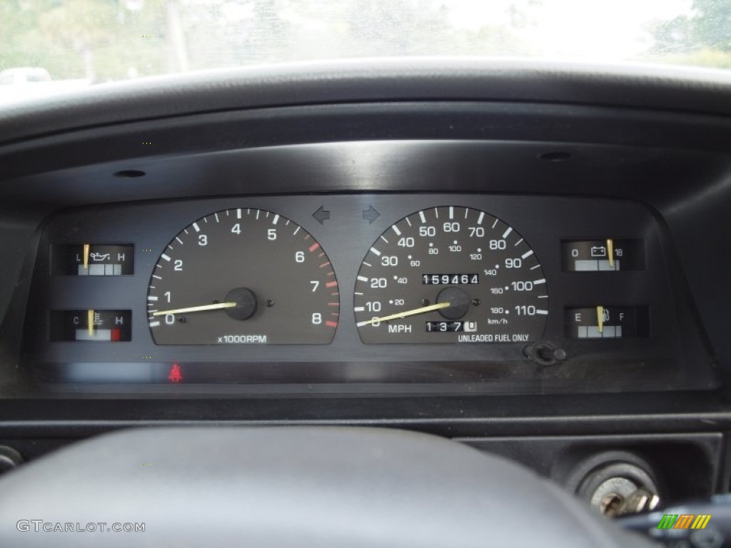 1994 Toyota 4runner Sr5 4x4 Gauges Photo 72615143