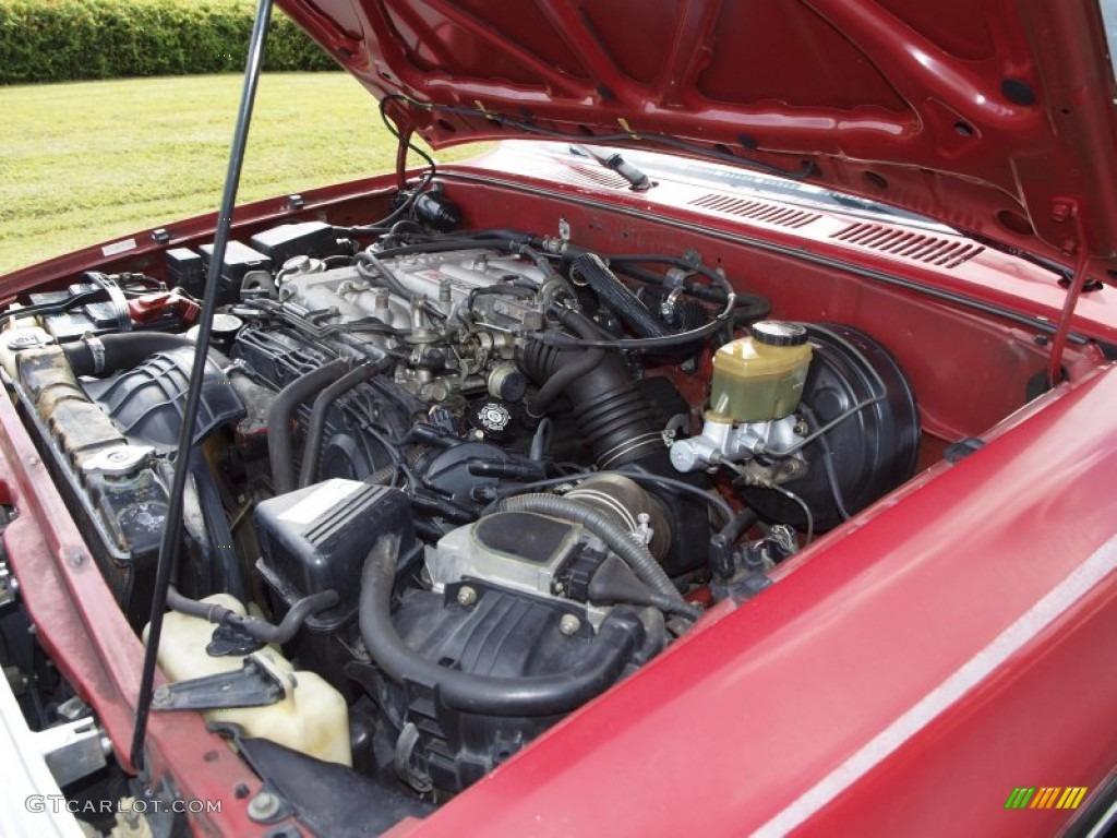 1994 Toyota 4Runner SR5 4x4 3.0 Liter SOHC 12-Valve V6 ...