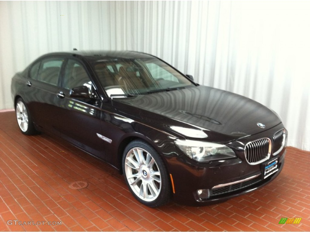 2011 ruby black metallic bmw 7 series 750li xdrive sedan