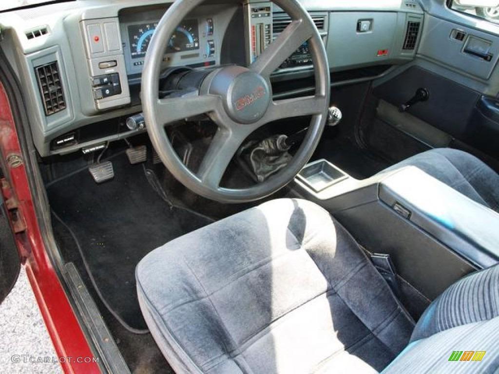 1993 Gmc Sonoma Sle Extended Cab Interior Photo 72619529 Gtcarlot Com