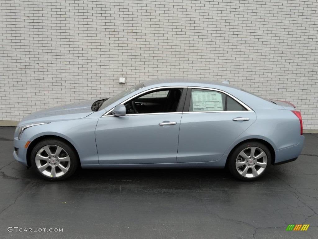 Glacier Blue Metallic 2013 Cadillac Ats 3 6l Luxury Exterior Photo 72619642