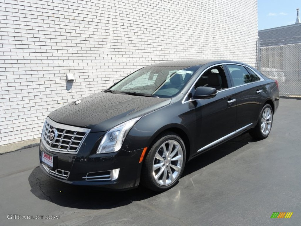 2013 Graphite Metallic Cadillac Xts Luxury Awd 72597623 Car Color Galleries