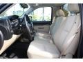 2010 Chevrolet Silverado 1500 Light Cashmere/Ebony Interior Front Seat Photo