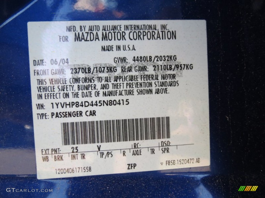 2003 mazda 6 color codes 2003 wiring diagram and circuit schematic