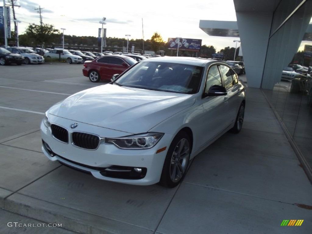 2013 Mineral White Metallic BMW 3 Series ActiveHybrid 3 Sedan ...