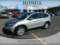 2012 Alabaster Silver Metallic Honda CR-V EX  photo #1
