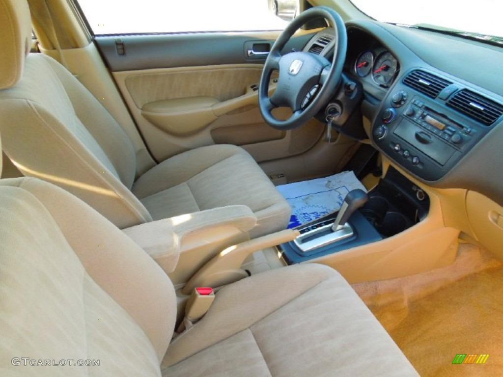 2004 Honda Civic Ex Sedan Interior Photos